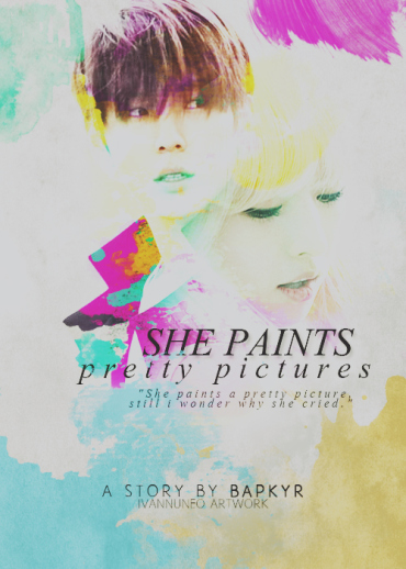 she paints pretty pictures